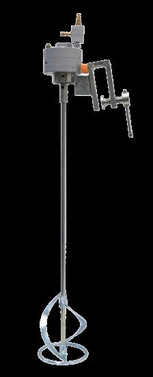 Pneumatic agitator with hook E700 730