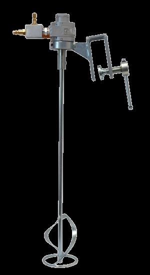 Pneumatic agitator with hook E701 730