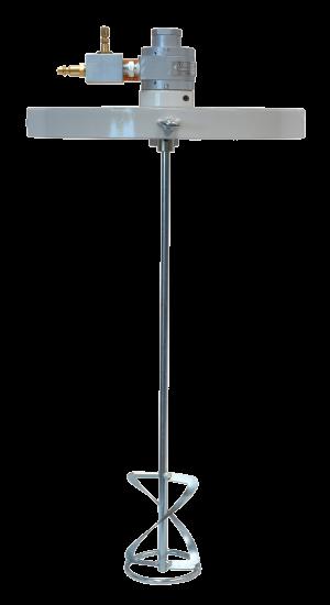 Agitador montado sobre tapa de 25 litros E701 750