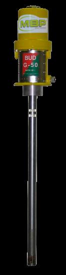Bomba de engrase BUD G50/50 para bidones de 50 kilos