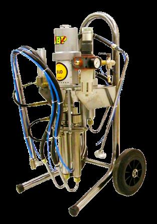 Equipo mezclador para dos componentes mezcla fija BUD 4-2K