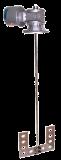 Agitador neumático con reductora E700 721