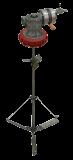 Agitador neumático con reductora y tapa para contenedor de 1000 litros E700 723